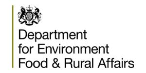 Department Environment, Food & Rural Affairs